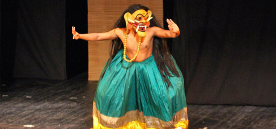 "Performance by Indian Puppet Group ""Katkatha"" in Serbia"