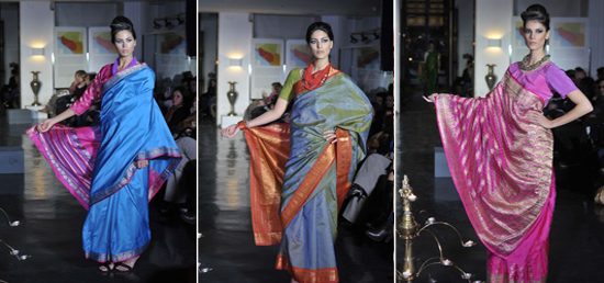 Indian Sari and Textiles Fashion Show