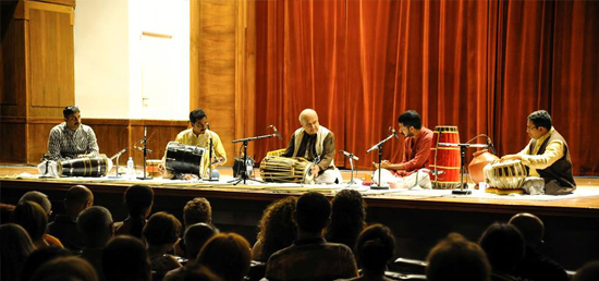 "Live Concert of Indian Classical Instrumental ensemble ""Laya, Taal, Samvaad"" on 1 September 2015"