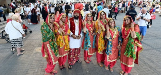 Performance of folklore ensemble Punjab Cultural Promotion Council (PCPC) within the 5th International FIDAF Folk Dance and Music Festival Competition ''Belgrade Award'', to be held in Belgrade 3-7 July 2017