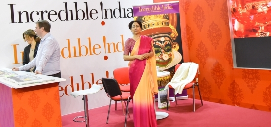 Incredible India at 39th International Tourism Fair, Belgrade