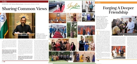 CorD magazine special supplement on India
