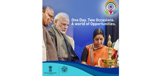 Be part of the story. Witness the inauguration of the 15th Pravasi Bhartiya Diwas Convention by PM @narendramodi in the gracious presence of PM of Mauritius,   HE Pravind Jugnauth. #PravasiAtVaranasi #PBD2019
