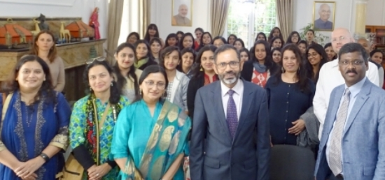 Ambassador S. Bhattacharjee met the students and faculty of Dr. Bhanuben Nanavati College of Architecture for Women (BNCA), Pune who are attending workshop on educational programme under the United Nations Academic Impact programs at the Novi Sad University, Serbia (12.11.2018)
