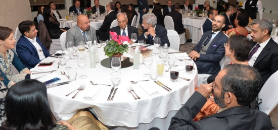 """Hon""""ble EAM Dr. S. Jaishankar interacts with Indian Community & Friends of India in Belgrade"""