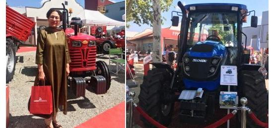 Indian agri-machinery at 84th International Agricultural Fair, Novi Sad, Serbia (19-23 May 2017)